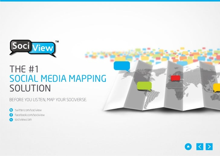 TMTHE #1SOCIAL MEDIA MAPPINGSOLUTIONBEFORE YOU LISTEN, MAP YOUR SOCIVERSE.  twitter.com/sociview  facebook.com/sociview  s...