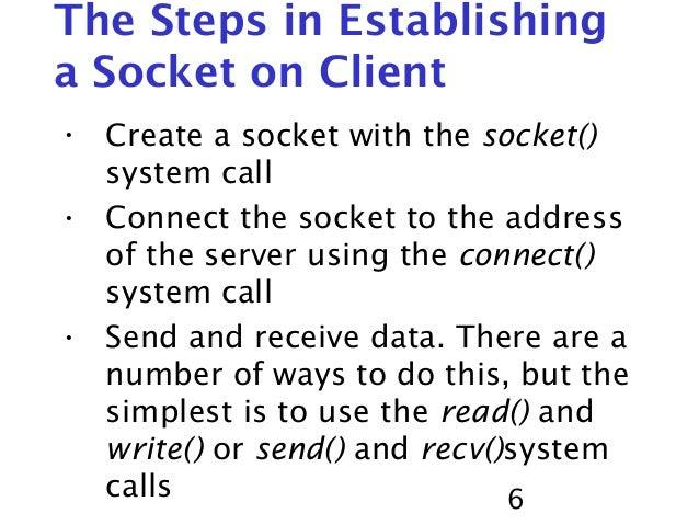 socket programming Learn socket programming in c on the linux platform write socket servers and client programs in c.