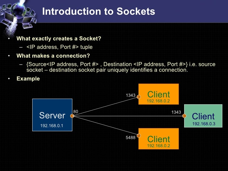 socket programming commands How can i establish my socket connection using the windows command line for example, my socket ip and port num is 1921681180:9760 i just want to send commands to that ip from the command line.