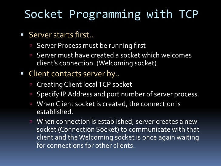 how to create a socket in java