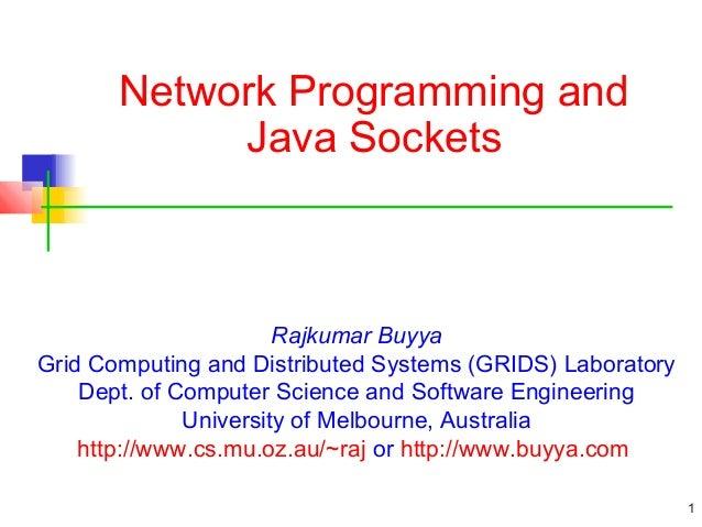 Socket Programming - nitish nagar