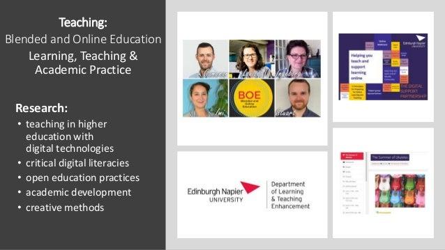 'Post-normal learning & Teaching' Edinburgh Napier University School of Computing Keynote L Drumm Slide 2