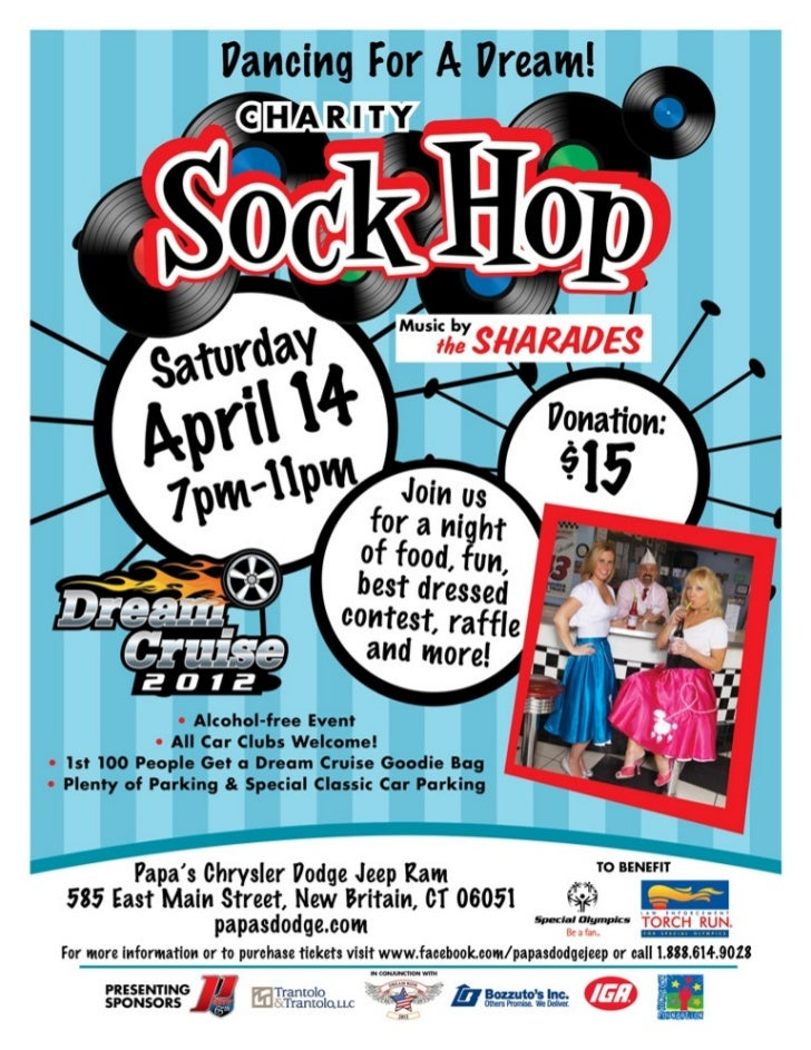 Sock hop and classic car cruise in hartford ct