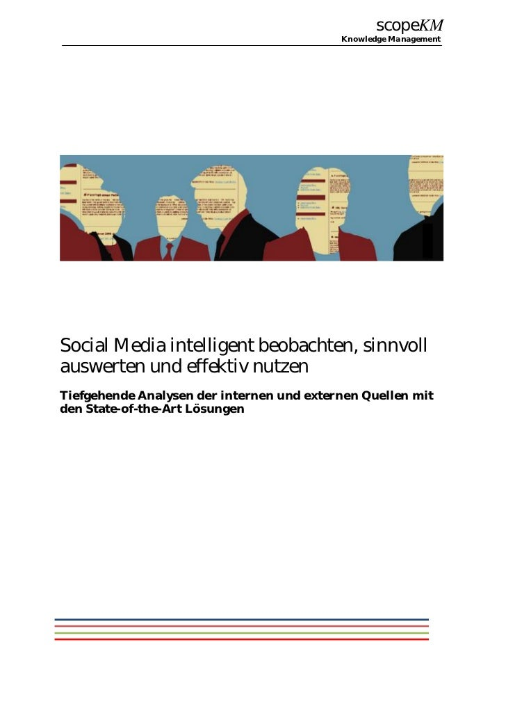 scopeKM                                           Knowledge ManagementSocial Media intelligent beobachten, sinnvollauswert...
