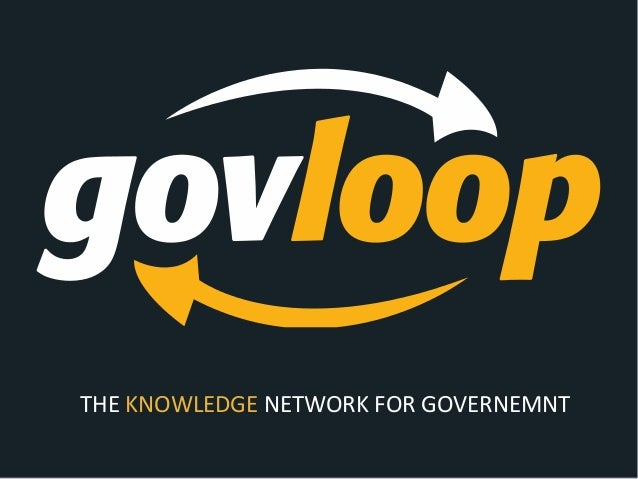 THE KNOWLEDGE NETWORK FOR GOVERNEMNT