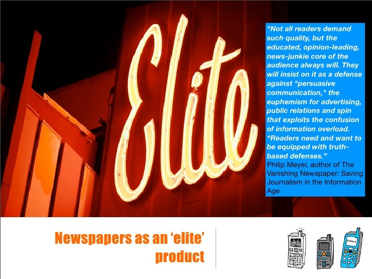 future of newspapers When local newspapers consolidate, they combine their resources to try and deliver a profitable news product click here to read more.