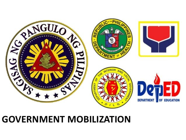 Government Mobilization Local Health Board • RA 7160, Sec 102 • Headed by the Local Chief Executive • Other members – Muni...