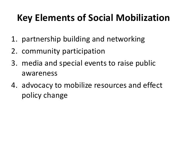 Community Participation • Participation is about meeting the interests of the whole community. • Takes into consideration ...