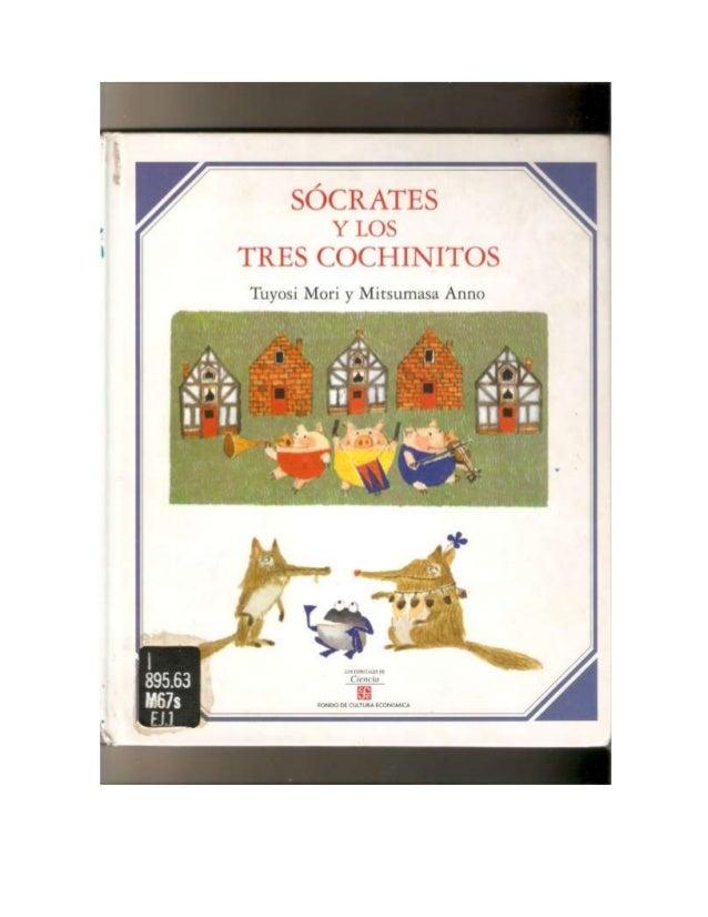 Socrates y los tres cochinitos.
