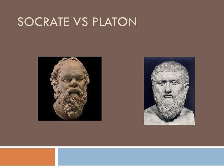 SOCRATE VS PLATON
