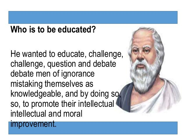 meno epistemology and socrates The epistemic search for knowledge and truth has much significance in plato's   in the meno, socrates says that it is necessary for men to at least believe they.