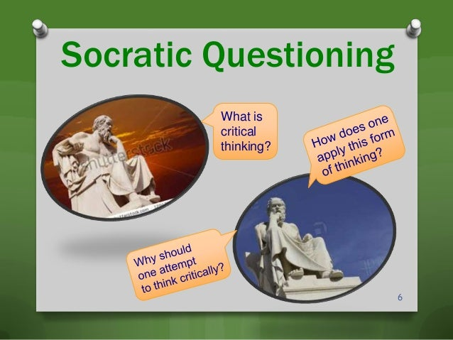 the questioning methods employed by socrates Socratic method, also known as maieutics, method of elenchus, elenctic method, or socratic debate, is named after the classical greek philosopher socrates it is a form of inquiry and discussion between individuals, based on asking and answering questions to stimulate critical thinking and to illuminate ideas.