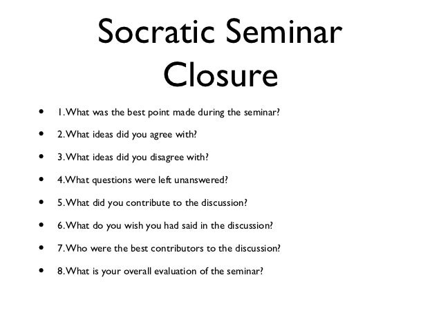 """seminar 4 discussion questions 4 involve others in the discussion, and ask others to elaborate on their  responses (use """"academic  what questions do i now have as a result of this  seminar."""