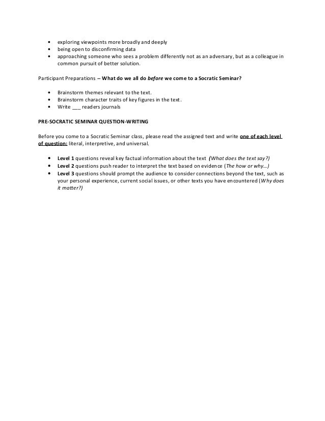 Socratic seminar worksheet the best and most for Socratic seminar lesson plan template