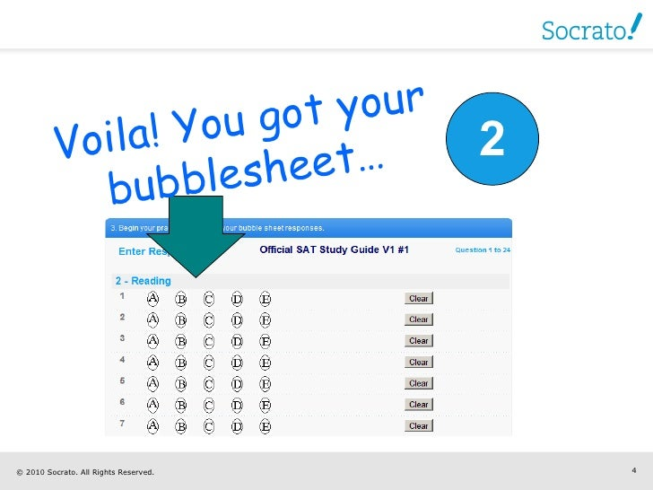 How to Use Bubble Sheet Grader to Grade Your SAT / ACT Tests