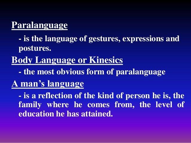 Body language's importance