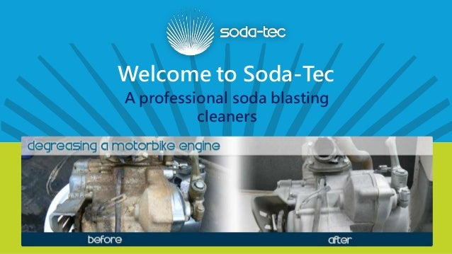Welcome to Soda-Tec A professional soda blasting cleaners