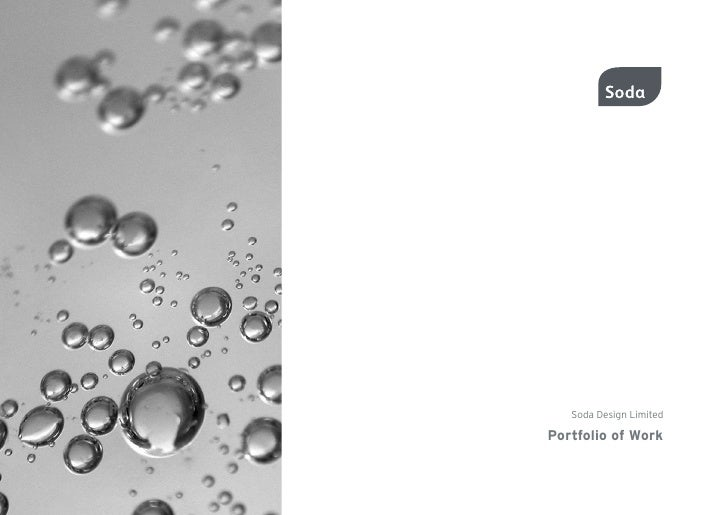 Soda Design Limited  Portfolio of Work