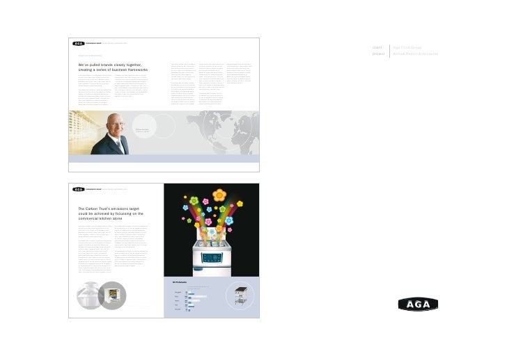 client    AgaFoodGroup project   AnnualReport&Accounts