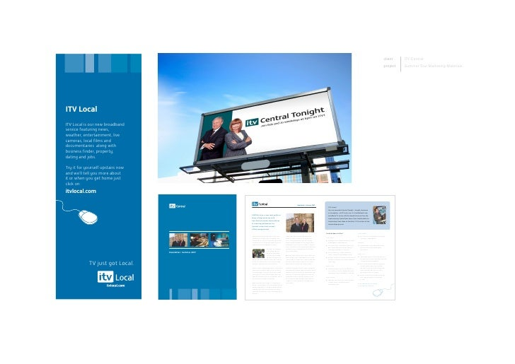 client    ITVCentral project   SummerTourMarketingMaterials: