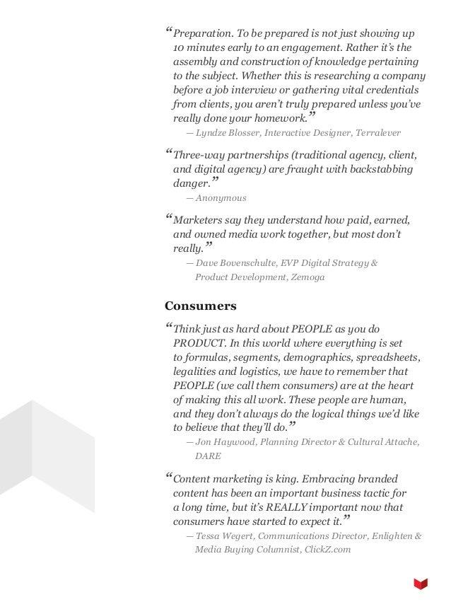 The SoDA Report (Volume 1, 2013)