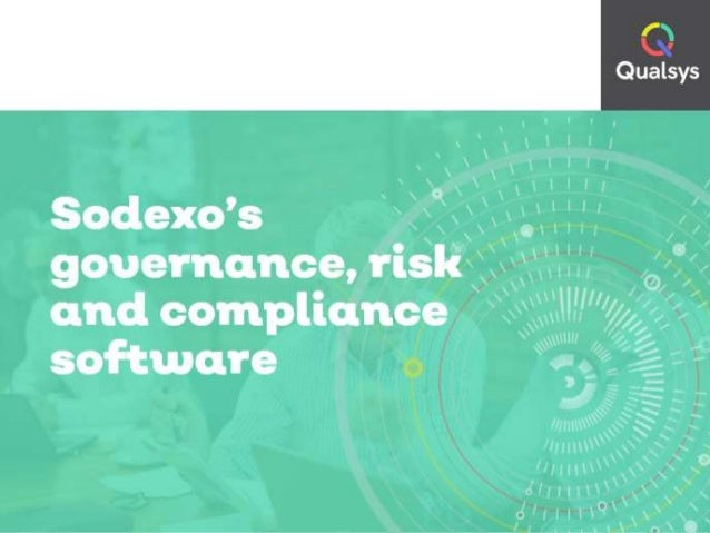 Sodexo's governance, risk and compliance software