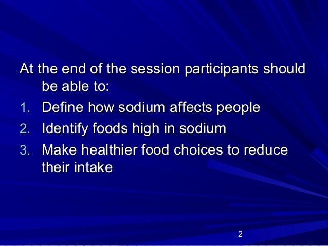 Sodium Slide 2