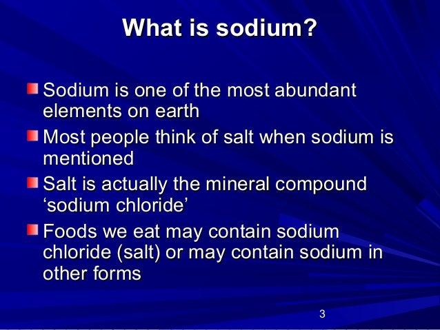 Sodium Slide 3