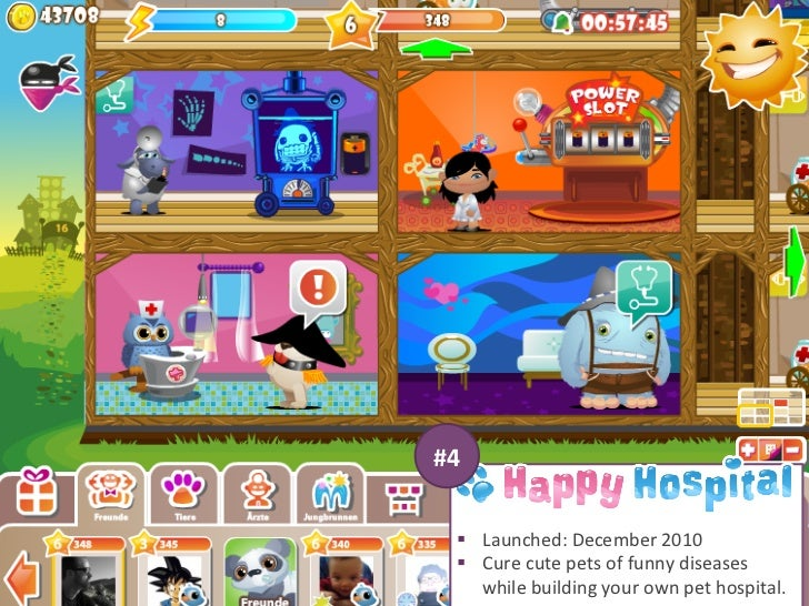 #4     § Launched: December 2010     § Cure cute pets of funny diseases         while building ...