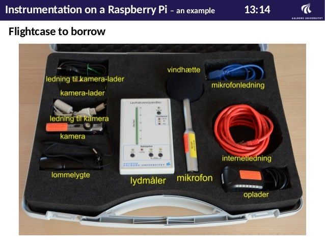 The end Instrumentation on a Raspberry Pi – an example 14:14
