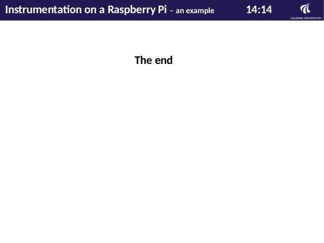 Konstruktion omkring en Raspberry Pi