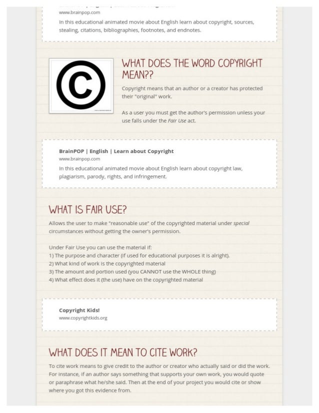 Digital Citizenship Lesson- So exCITEd! Slide 2