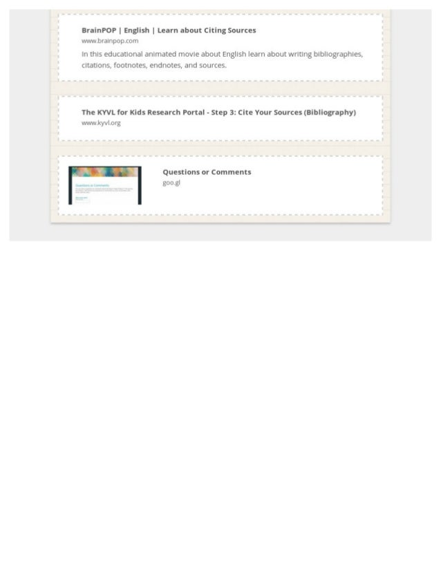 Digital Citizenship Lesson- So exCITEd! Slide 3