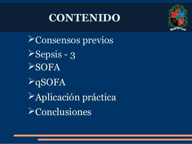 SOFA: Sequential [Sepsis-Related] Organ Failure Assessment Slide 2