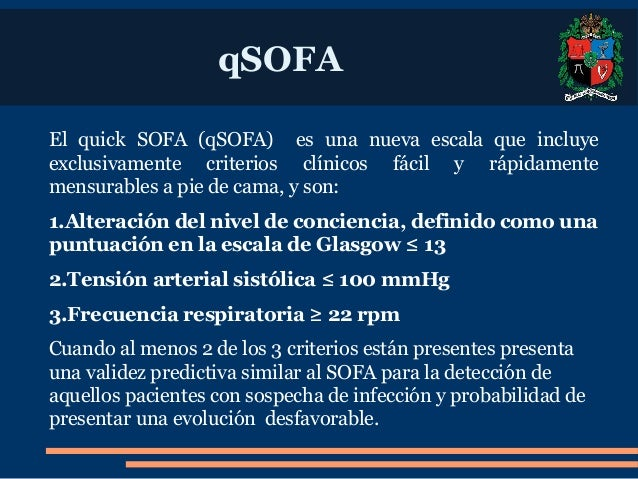 SOFA Sequential Sepsis Related Organ Failure Assessment : sofa sequential sepsisrelated organ failure assessment 7 638 from www.slideshare.net size 638 x 479 jpeg 103kB