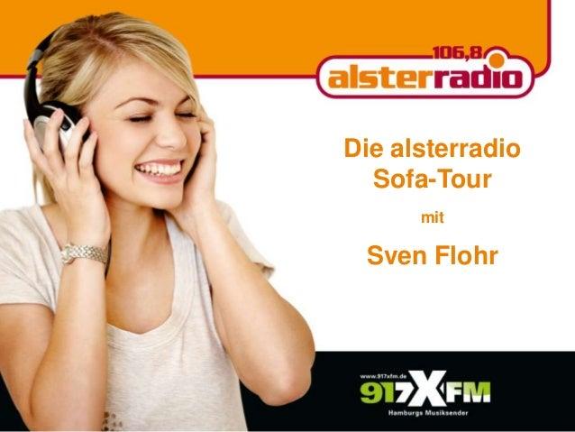 Die alsterradio Sofa-Tour mit Sven Flohr