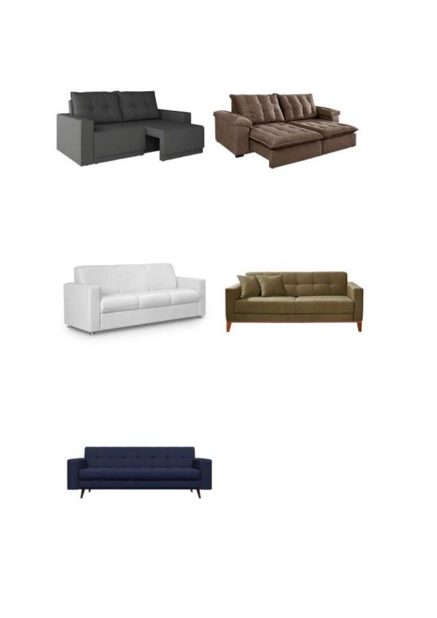 Sofa 3 Lugares Retrátil e Reclinável, Barato, Frete Grátis ...
