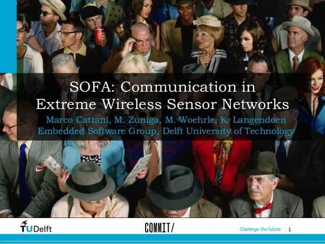 1Challenge the future SOFA: Communication in Extreme Wireless Sensor Networks Marco Cattani, M. Zuniga, M. Woehrle, K. Lan...