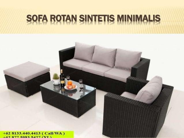 62 8133 440 4413 Kursi Cafe Rotan Sintetis Furniture Cafe Murah