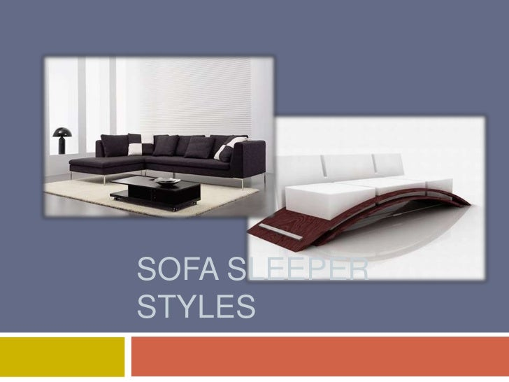 SOFA SLEEPERSTYLES