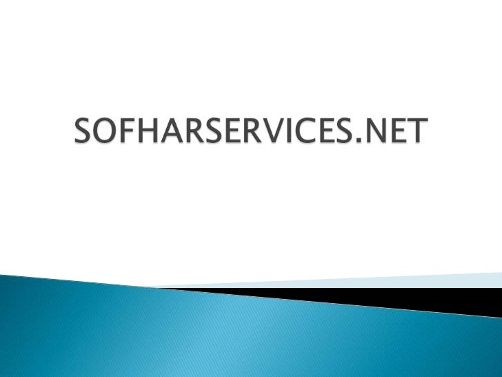 SOFHARSERVICES.NET<br />