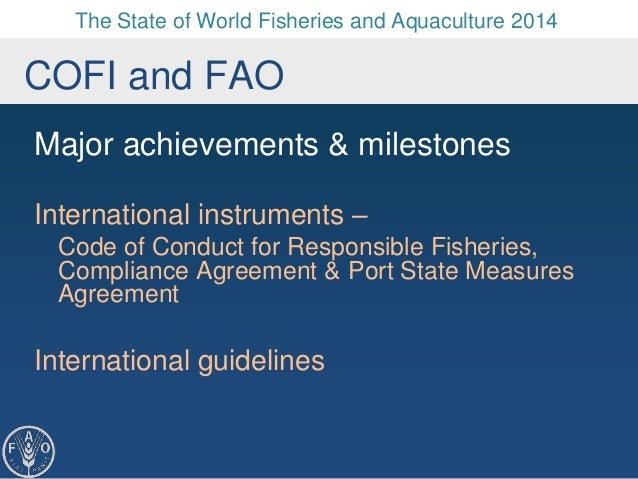 The state of world fisheries and aquaculture sofia agreement international guidelines 3 the state of world fisheries and aquaculture sciox Gallery