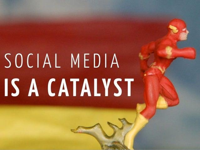 SOCIAL MEDIAIS A C ATA LYST