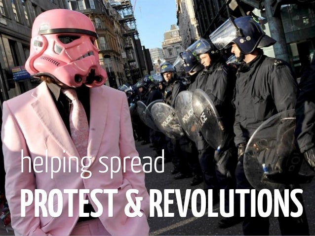 helping spreadPROTEST & REVOLUTIONS