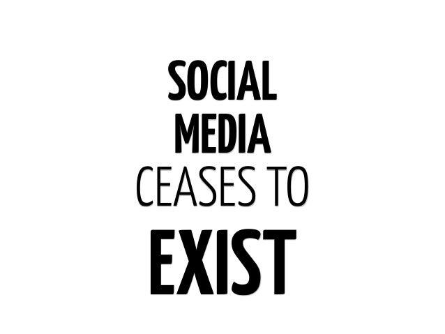 SOCIALCEASES TOEXIST