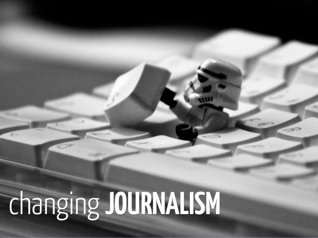 changing JOURNALISM