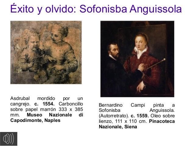 Éxito y olvido: Sofonisba AnguissolaAsdrubal mordido por uncangrejo. c. 1554. Carboncillosobre papel marrón 333 x 385mm. M...