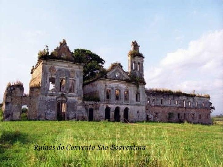 Ruinas do Convento São Boaventura
