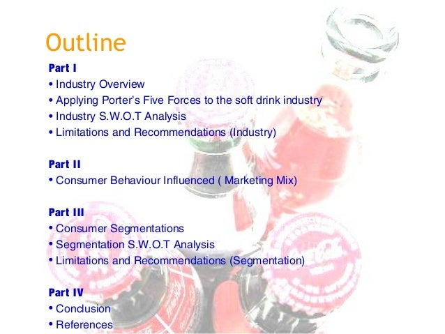 porter s five forces soft drink industry Cola wars : five forces analysis october 18, 2007 posted by laxmi goutham vulpala in case studies trackback 1 soft drink industry five forces analysis: soft drink industry is very profitable, more so for the concentrate producers than the bottler's.
