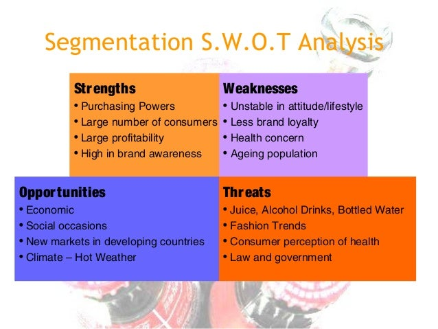 swot analysis of innocent drinks Coca cola co swot analysis for later save  swot analysis, in soft drinks (world)  innocent appears well positioned to grow as a sophisticated premium juice.